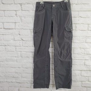 Kuhl Splash Roll Up Cargo Pants Gray Hiking Active
